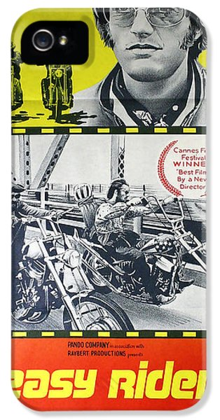 Jack Nicholson iPhone 5 Case - Easy Rider Movie Lobby Poster  1969 by Daniel Hagerman