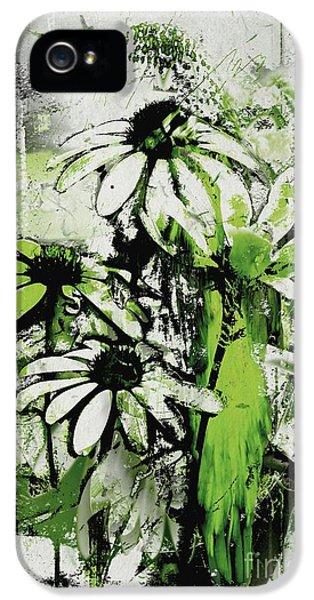 Echinacea - A11bl3c9 IPhone 5 Case