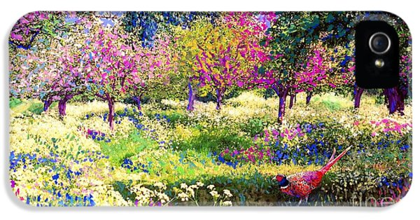 Echoes From Heaven, Spring Orchard Blossom And Pheasant IPhone 5 Case