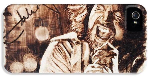 Eddie Vedder IPhone 5 / 5s Case by Lance Gebhardt