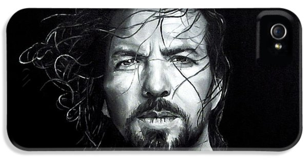 Breathe iPhone 5 Case - Eddie Vedder - Last Kiss by Francesca Agostini