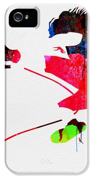 Eddie Watercolor IPhone 5 / 5s Case by Naxart Studio