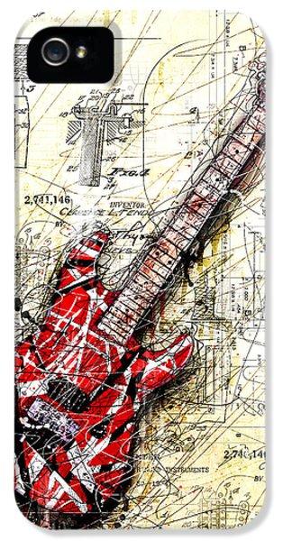 Guitar iPhone 5 Case - Eddie's Guitar 3 by Gary Bodnar
