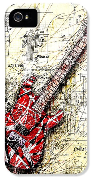 Eddie's Guitar 3 IPhone 5 Case