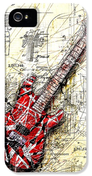 Guitar iPhone 5 Case - Eddie's Guitar 3 by Gary Bodnar