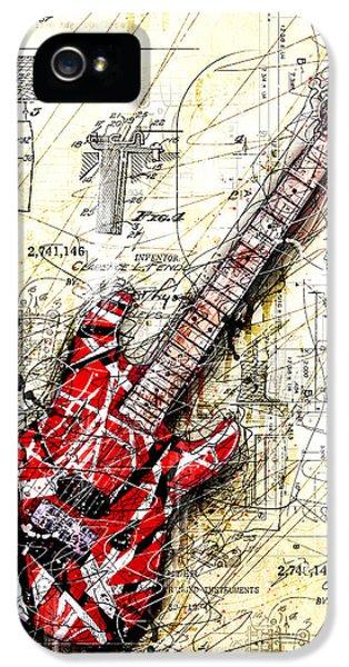 Eddie's Guitar 3 IPhone 5 Case by Gary Bodnar