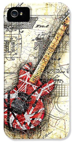 Eddie's Guitar II IPhone 5 / 5s Case by Gary Bodnar