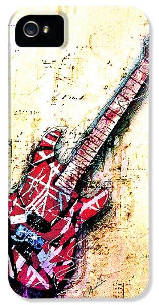 Eddie's Guitar Variation 07 IPhone 5 Case