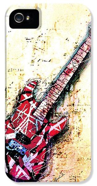 Eddie's Guitar Variation 07 IPhone 5 / 5s Case by Gary Bodnar