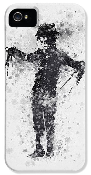 Edward Scissorhands 01 IPhone 5 Case by Aged Pixel