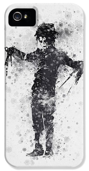 Edward Scissorhands 01 IPhone 5 / 5s Case by Aged Pixel