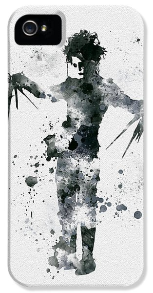 Edward Scissorhands IPhone 5 / 5s Case by Rebecca Jenkins