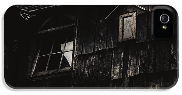 Eerie Vintage Abandoned Home. The Dark Shack IPhone 5 Case by Jorgo Photography - Wall Art Gallery