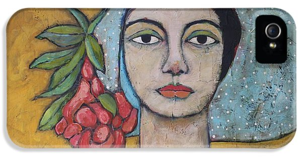 Portraits iPhone 5 Case - Eileen by Jane Spakowsky