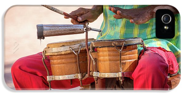 Drum iPhone 5 Case - El Son De Cuba by Delphimages Photo Creations