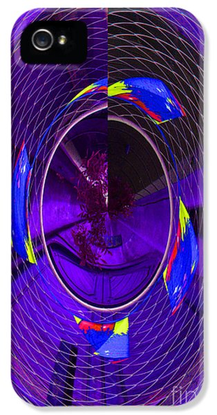 IPhone 5 Case featuring the photograph Electric Blue by Nareeta Martin