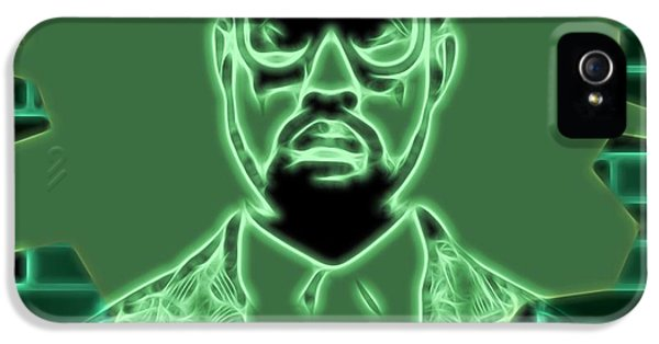Electric Kanye West Graphic IPhone 5 Case