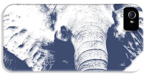 Elephant 4 IPhone 5 Case by Joe Hamilton