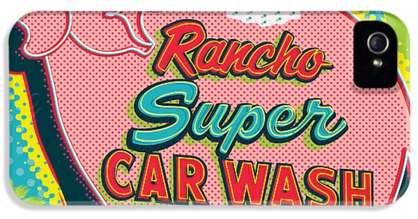 Elephant Car Wash - Rancho Mirage - Palm Springs IPhone 5 Case