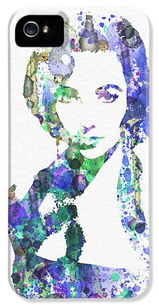 Elithabeth Taylor IPhone 5 Case by Naxart Studio