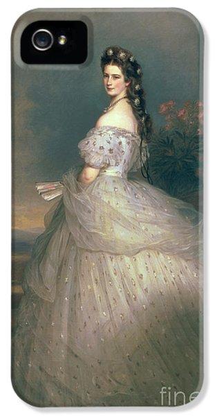 Elizabeth Of Bavaria IPhone 5 Case by Franz Xavier Winterhalter