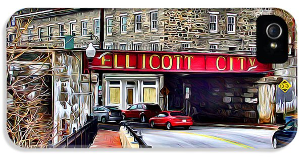 Ellicott City IPhone 5 Case