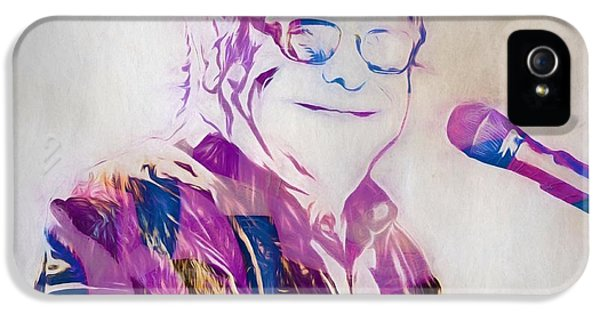 Elton John iPhone 5 Case - Elton John by Dan Sproul