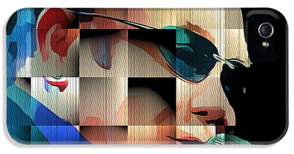 Elton John iPhone 5 Case - Elton John In Cubes 1 by Yury Malkov