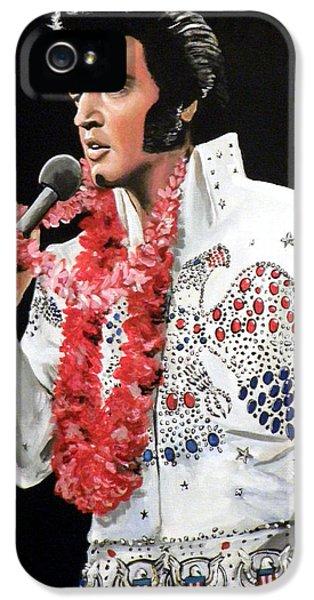 Elvis IPhone 5 Case by Tom Carlton