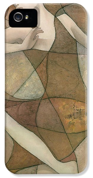 Abstract iPhone 5 Case - Elysium by Steve Mitchell