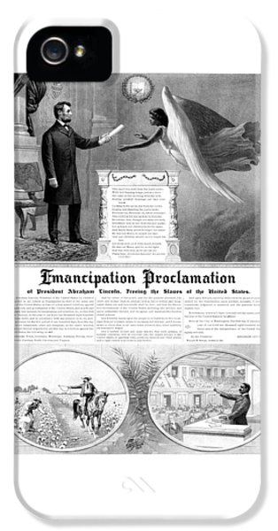 Emancipation Proclamation IPhone 5 / 5s Case by War Is Hell Store