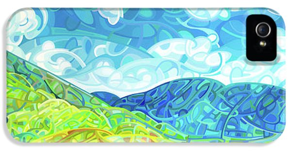 Emerald Moments IPhone 5 Case by Mandy Budan