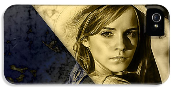 Emma Watson Collection IPhone 5 / 5s Case by Marvin Blaine