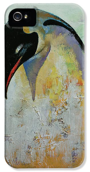Emperor Penguin IPhone 5 / 5s Case by Michael Creese