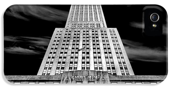 Empire State Building iPhone 5 Case - Empire State   by Az Jackson