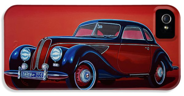 Emw Bmw 1951 Painting IPhone 5 Case by Paul Meijering