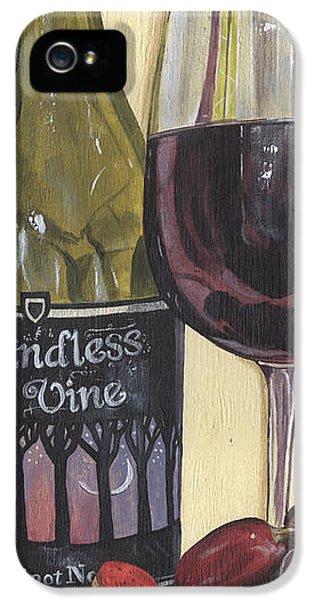 Endless Vine Panel IPhone 5 Case by Debbie DeWitt