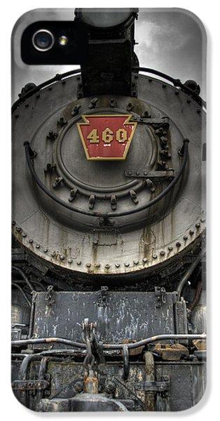 Train iPhone 5 Case - Engine 460 Front And Center by Scott Wyatt