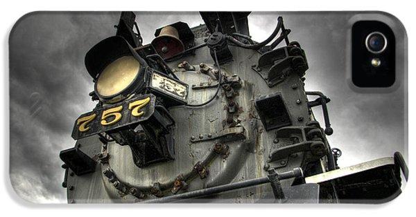 Train iPhone 5 Case - Engine 757 by Scott Wyatt