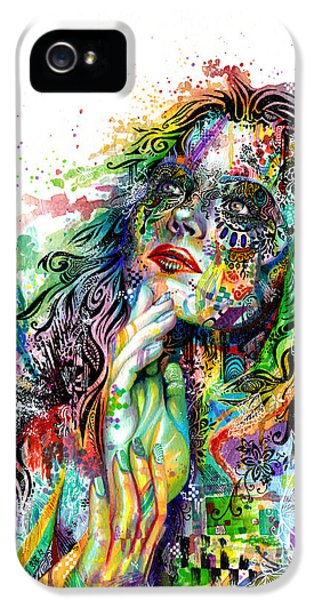 Enigma IPhone 5 Case by Callie Fink