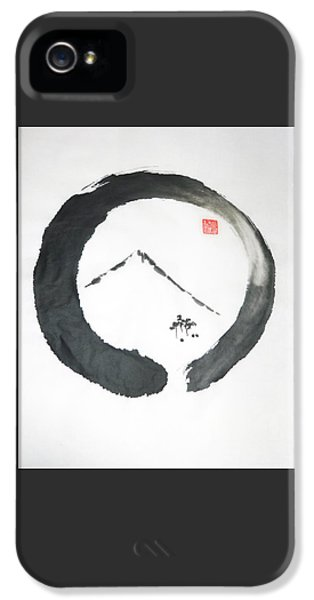 Enso Noble IPhone 5 Case by Casey Shannon