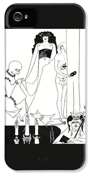 Enter Herodias IPhone 5 Case by Aubrey Beardsley