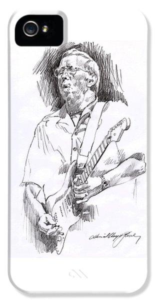 Eric Clapton Blue IPhone 5 Case