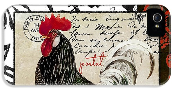 Europa Rooster IIi IPhone 5 Case by Mindy Sommers