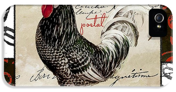 Rooster iPhone 5 Case - Europa Rooster IIi by Mindy Sommers