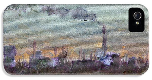Evening By Industrial Site IPhone 5 Case