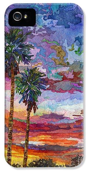 Beach Sunset iPhone 5 Case - Evening Glow by Hailey E Herrera