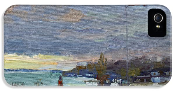 Evening In Gratwick Waterfront Park IPhone 5 Case
