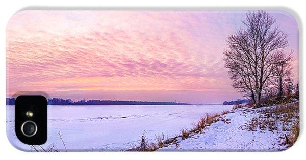 Evening On Frozen Vistula IPhone 5 Case by Dmytro Korol