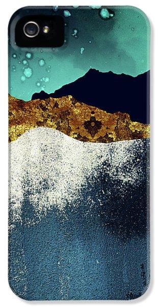 Landscapes iPhone 5 Case - Evening Stars by Katherine Smit